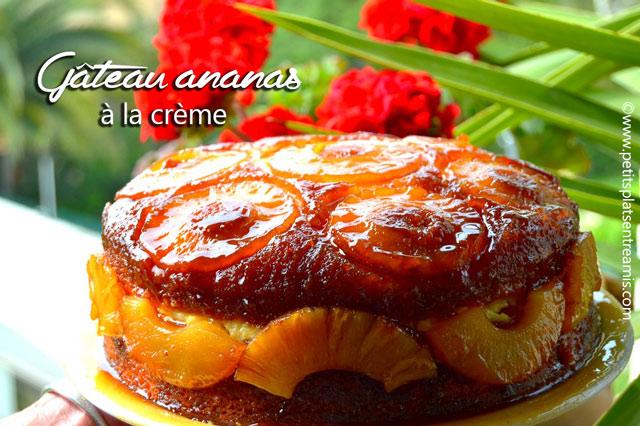 Gâteau-ananas-à-la-crème