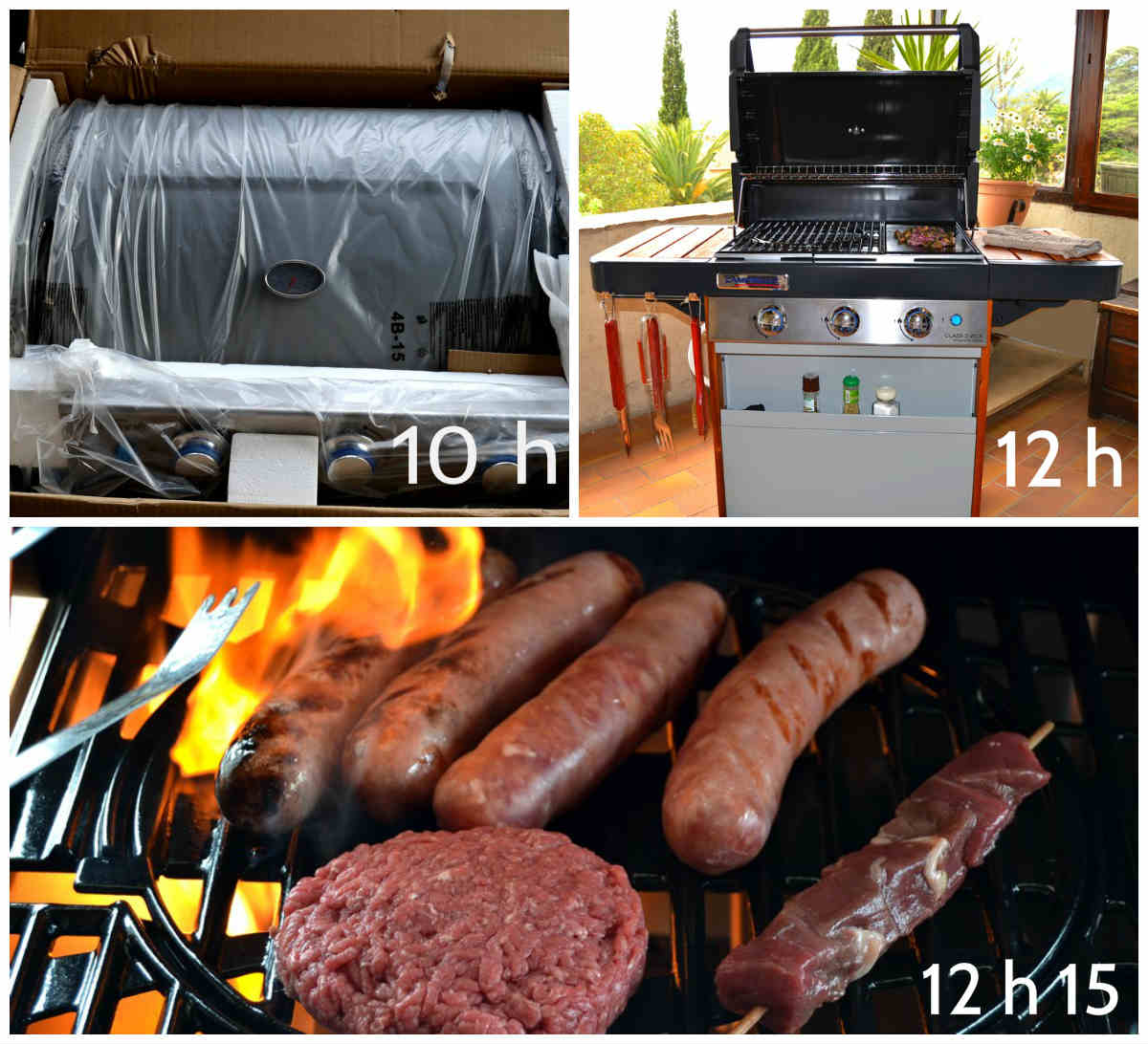 montage barbecue campingaz