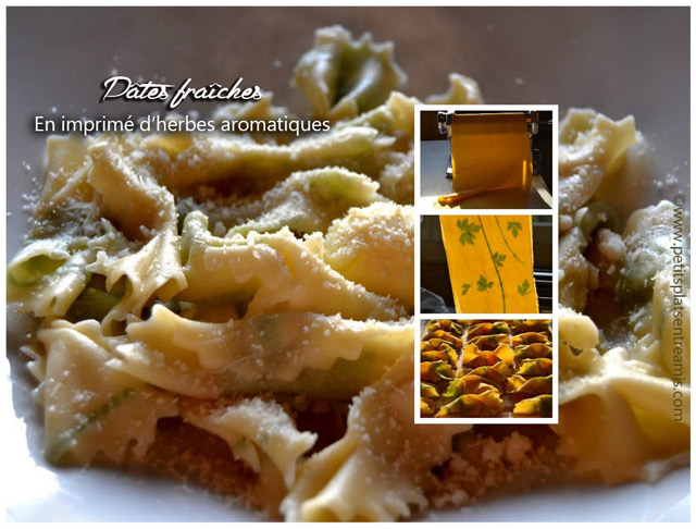 pâtes-fraîches-en-imprimés-d'herbes-aromatiques