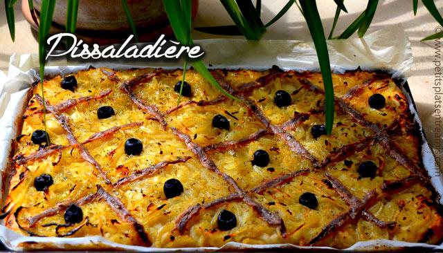 Pissaladi re ma recette facile petits plats entre amis for Plat entre amis facile