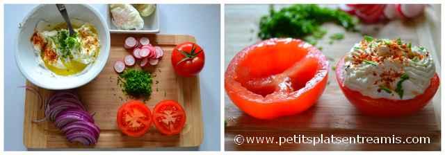 préparation salade au jambon de pays