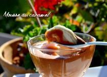 Mousse au caramel, une recette délicieuse