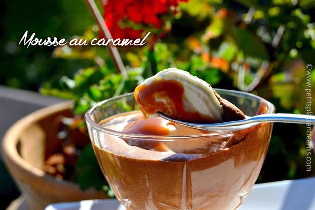 Mousse au caramel une recette d licieuse petits plats for Dessert repas entre amis
