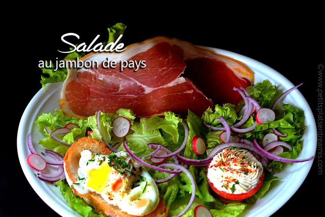 salade au jambon de pays