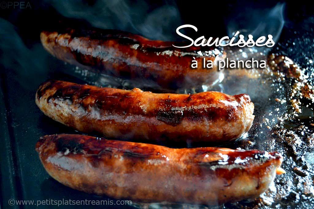 Saucisses la plancha id e pour l 39 ap ritif petits plats entre amis - Repas plancha entre amis ...