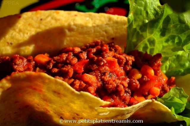tacos au boeuf à la une
