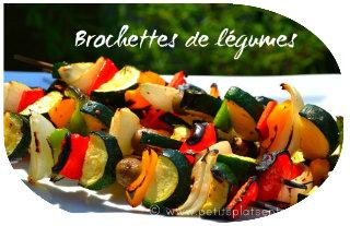 recettes de brochettes des id es pour le barbecue petits plats entre amis. Black Bedroom Furniture Sets. Home Design Ideas