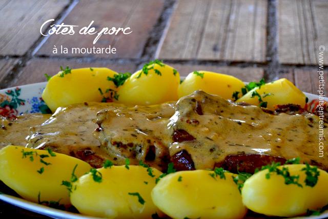 recette-côtes-de-porc-à-la-moutarde