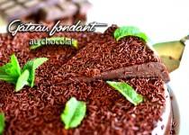 Gâteau fondant au chocolat, recette sans farine