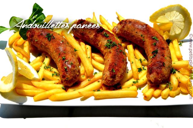 Andouillettes pan es petits plats entre amis - Accompagnement andouillette grillee ...