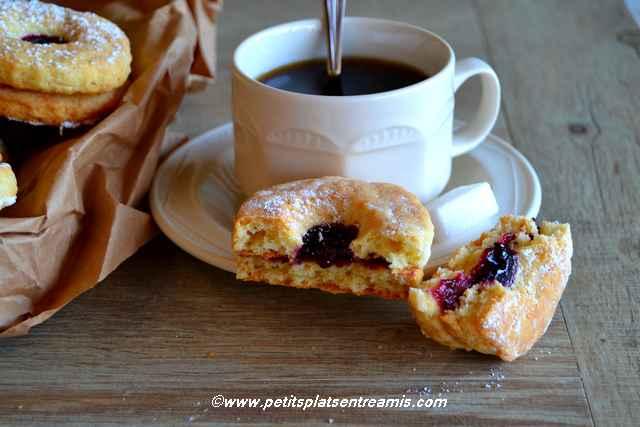 bouchée biscuits-sablés-à-la-confiture