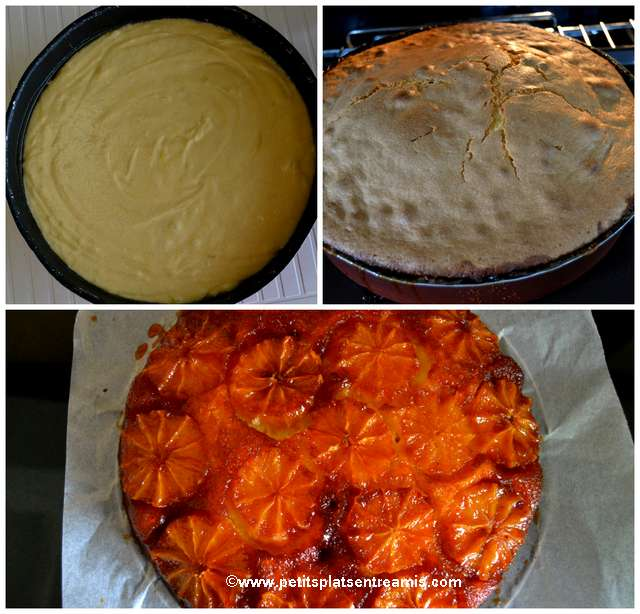 cuisson gâteau à l'orange