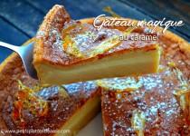 Gâteau magique au caramel