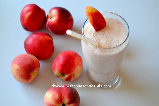 recette Milk-shake-aux-pêches-blanches