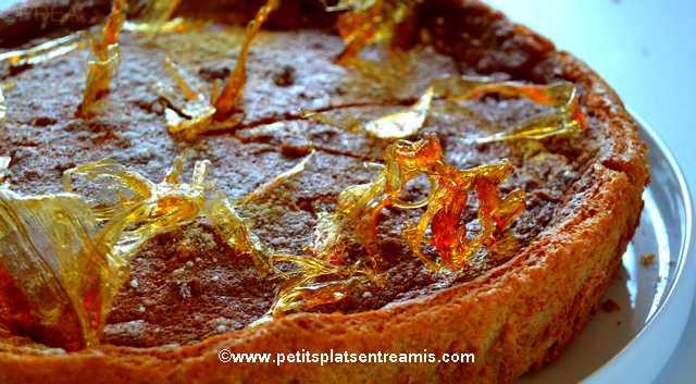 recette gâteau magique au caramel