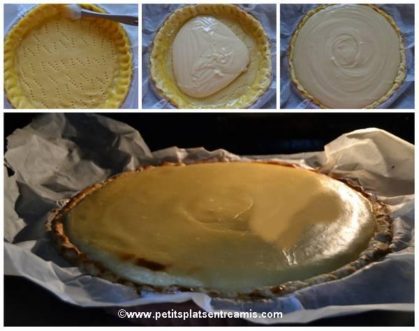 cuisson tarte à la crème au sirop d'érable