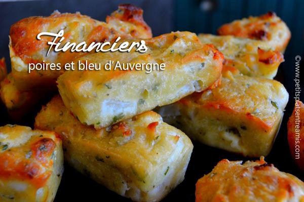 financiers-aux-poires-et-bleu-d'Auvergne