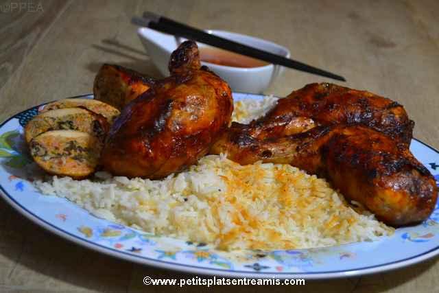 plat de cuisses-de-poulet-à-la-chinoise