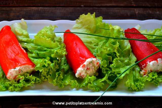 plats de petits-poivrons-farcis-au-chèvre