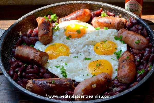 recette huevos-rancheros