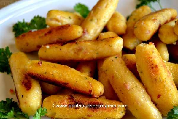 recette quenelles de farine de maïs