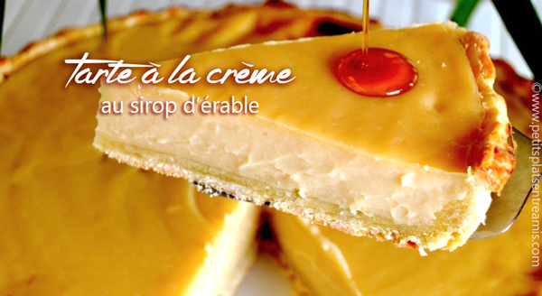 tarte-à-la-crème-au-sirop-d'érable