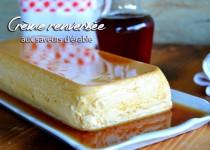 Crème renversée aux saveurs d'érable