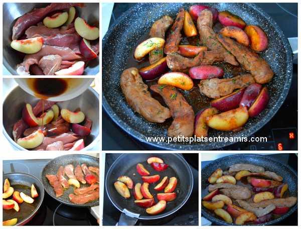 cuisson aiguillettes de canard