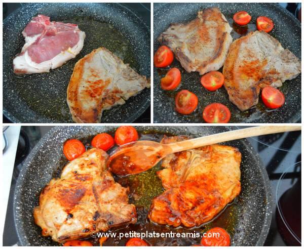 cuisson côtes de porc hoisin