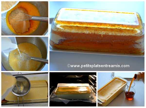 cuisson crème caramel aux saveurs d'érable