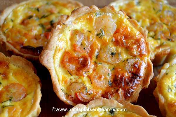 idée apéritif minis-quiches-aux-crevettes-et-surimi