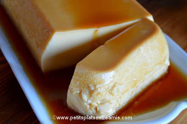 idée dessert crème renversée aux saveurs d'érable