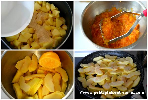 cuisson des pommes pour tartes