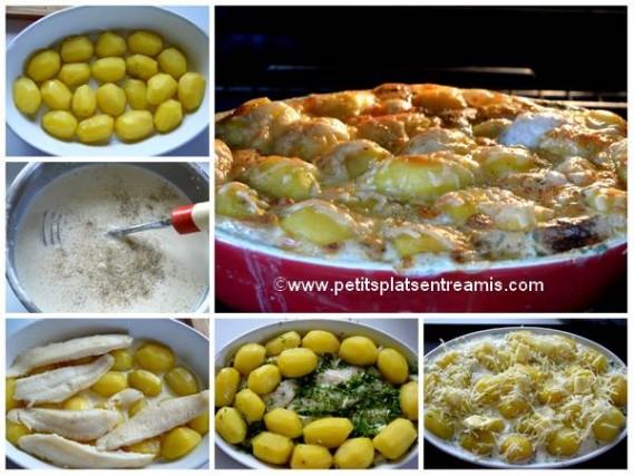 cuisson gratin de poisson