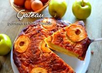 Gâteau aux pommes et sirop d'érable