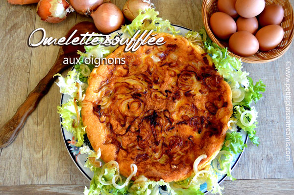 omelette-soufflée-aux-oignons