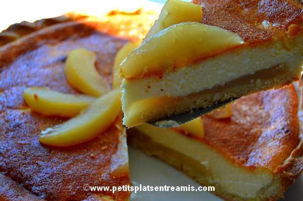 part de tarte-au-fromage-blanc