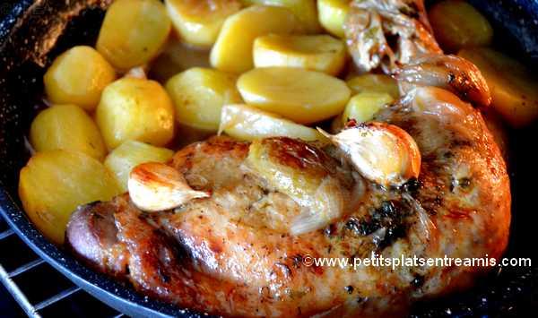recette cuisse de dinde fondante au sirop d'érable
