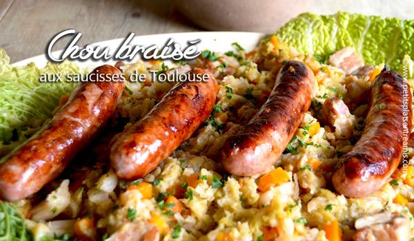 chou-braisé-aux-saucisses-de-Toulouse