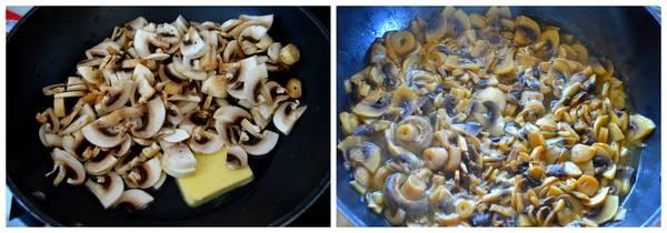 cuisson champignons pour blanquette