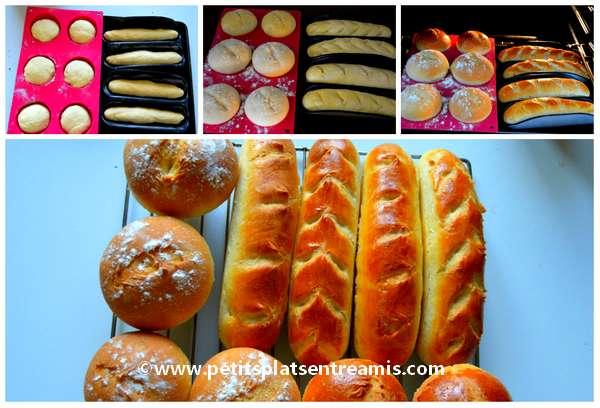 cuisson des petits pains
