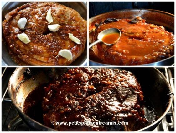 cuisson rouelle au sirop d'érable