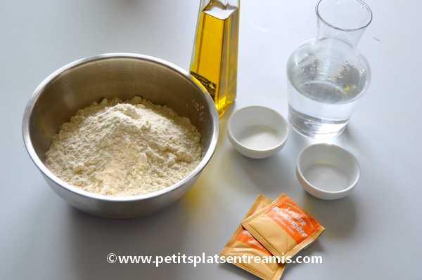 ingrédients pour petits pains cocotte