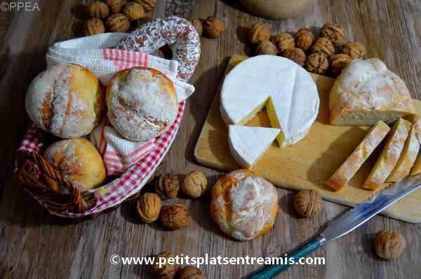 petits pains cocotte recette
