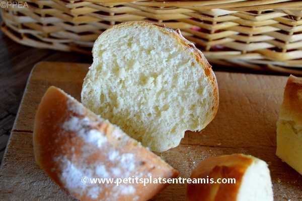 petits pains maison recette