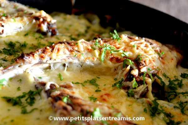 recette Côtes d'agneau gratinées aux courgettes