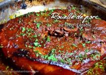 Rouelle de porc au sirop d'érable