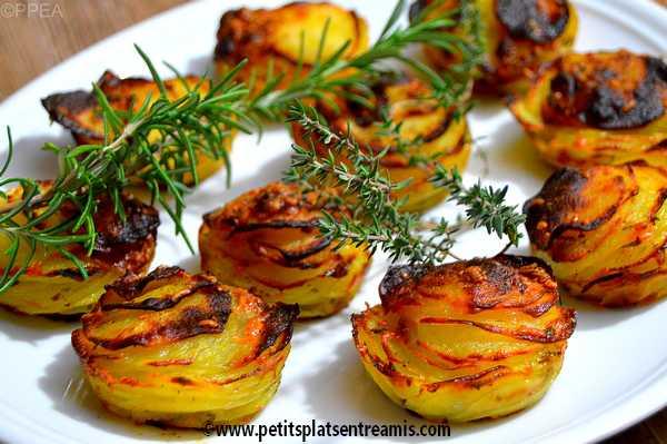 émincé-de-pommes-de-terre-à-l'emmental recette