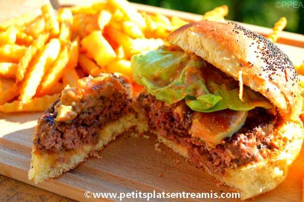 bouchée de burger au foie gras