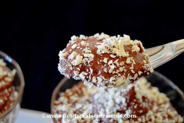 bouchée entremet chocolat & caramel au beurre salé